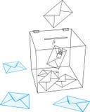 εκλογές Στοκ εικόνες με δικαίωμα ελεύθερης χρήσης