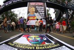 Εκλογή κυβερνητών της Τζακάρτα στοκ εικόνες