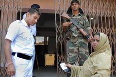 Εκλογή στην Ινδία Στοκ Φωτογραφία