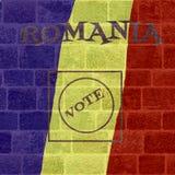 Εκλογή της Ρουμανίας Στοκ φωτογραφία με δικαίωμα ελεύθερης χρήσης