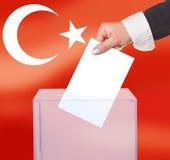 Εκλογική ψηφοφορία από την ψήφο στοκ φωτογραφία με δικαίωμα ελεύθερης χρήσης