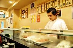 Εκδοτική αγορά ψαριών του Τόκιο Στοκ Φωτογραφίες