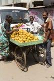 Εκδοτική επεξηγηματική εικόνα Κατάστημα των φρούτων και λαχανικών Στοκ Φωτογραφίες