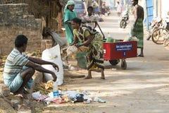 Εκδοτική επεξηγηματική εικόνα Οικιακά απόβλητα στοκ φωτογραφίες με δικαίωμα ελεύθερης χρήσης