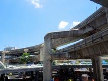 εκδοτική όχι rfe skytrain Ταϊλάνδη χρήση v07tha0633 της Μπανγκόκ εμπορικά Στοκ Φωτογραφίες