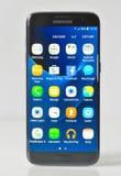 Εκδοτικός πυροβολισμός της άκρης γαλαξιών της Samsung S7 στοκ εικόνα με δικαίωμα ελεύθερης χρήσης