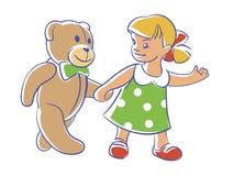ελάτε αφήνει το teddy περίπατο του s Στοκ φωτογραφίες με δικαίωμα ελεύθερης χρήσης
