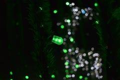 Ελάφια φαντασμάτων από τις σφαίρες του φωτός στοκ εικόνα με δικαίωμα ελεύθερης χρήσης