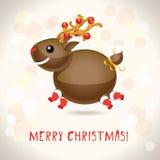 ελάφια Χριστουγέννων Στοκ εικόνες με δικαίωμα ελεύθερης χρήσης