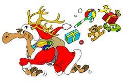 ελάφια Χριστουγέννων Στοκ Εικόνες