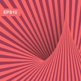 Ελάχιστο σχέδιο καλύψεων abstract background striped τέχνη οπτική τρισδιάστατο διάνυσμα απ&e  διανυσματική απεικόνιση