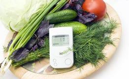 ελέγξτε τα λαχανικά ακτι&n Στοκ Φωτογραφία