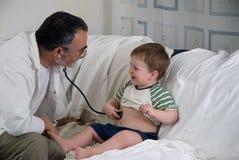 ελέγξτε το γιατρό Στοκ φωτογραφία με δικαίωμα ελεύθερης χρήσης