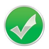ελέγξτε το σύμβολο Στοκ εικόνα με δικαίωμα ελεύθερης χρήσης