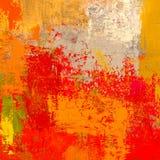 Ελαιογραφία στον καμβά χειροποίητο Αφηρημένη σύσταση τέχνης ζωηρόχρωμη σύσταση σύγχρονο έργο τέχνης Κτυπήματα του παχιού χρώματος απεικόνιση αποθεμάτων