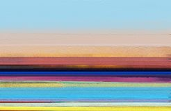 Ελαιογραφίες σύγχρονης τέχνης με το κίτρινο, κόκκινο χρώμα Αφηρημένη σύγχρονη τέχνη για το υπόβαθρο στοκ εικόνες