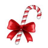 Ελαιόπρινος και καραμέλα Χριστουγέννων Διανυσματική απεικόνιση
