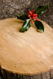 ελαιόπρινος Χριστουγέννων ανασκόπησης Στοκ εικόνα με δικαίωμα ελεύθερης χρήσης