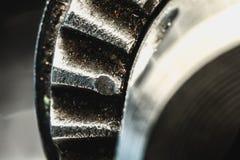 Ελαττωματική μακροεντολή κομματιών τρυπανιών Στοκ φωτογραφία με δικαίωμα ελεύθερης χρήσης