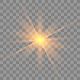 Ελαφριά έκρηξη πυράκτωσης διανυσματική απεικόνιση