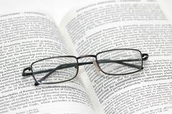 ελαφριά ανάγνωση γυαλιών fr Στοκ Φωτογραφίες