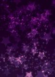 Ελαφριά αστέρια Στοκ Εικόνα