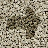 Ελαφριά βέλος και πλαίσιο αμμοχάλικου Στοκ εικόνα με δικαίωμα ελεύθερης χρήσης