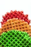 ελαφριά γκοφρέτα κυκλο& Στοκ εικόνα με δικαίωμα ελεύθερης χρήσης