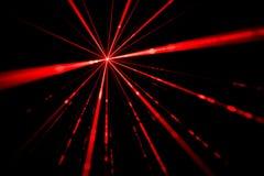 Ελαφριά επίδραση ακτίνων λέιζερ Στοκ Φωτογραφίες