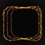 Ελαφριά επίδραση πυράκτωσης Κυκλική φλόγα φακών Αφηρημένες περιστροφικές γραμμές Το ενεργειακό νέο δύναμης ανάβει το κοσμικό αφηρ Στοκ φωτογραφίες με δικαίωμα ελεύθερης χρήσης