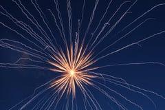 Ελαφριά ζωγραφική πυροτεχνημάτων στοκ φωτογραφία με δικαίωμα ελεύθερης χρήσης