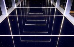 Ελαφριά κτηρίου σύγχρονη φωτογραφία εικόνας γυαλιού αντανακλαστική Στοκ Εικόνες