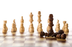 ελαφριά νίκη στρατηγικής έν& Στοκ εικόνα με δικαίωμα ελεύθερης χρήσης