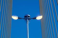 ελαφριά οδός γεφυρών Στοκ Εικόνα
