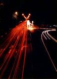ελαφριά οδός Στοκ εικόνα με δικαίωμα ελεύθερης χρήσης