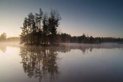 Ελαφριά ομίχλη πρωινού Στοκ Φωτογραφίες