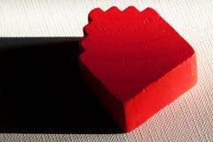 ελαφριά σκιά σπιτιών ξύλινη Στοκ Εικόνες