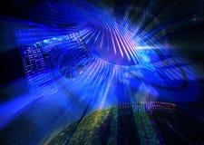 ελαφριά τεχνολογία διανυσματική απεικόνιση
