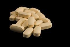 ελαφριά χάπια κίτρινα Στοκ Εικόνες