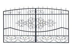 Ελαφριές πύλες με τη διακόσμηση Στοκ εικόνα με δικαίωμα ελεύθερης χρήσης