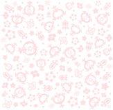 Ελαφριοί καρποί και λουλούδια ροδιών Στοκ εικόνα με δικαίωμα ελεύθερης χρήσης