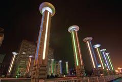 ελαφριοί πύργοι Στοκ Φωτογραφίες