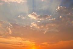 ελαφρύς ήλιος ακτίνων Στοκ Φωτογραφίες