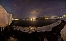 ελαφρύς βόρειος αυγής κ& Στοκ εικόνες με δικαίωμα ελεύθερης χρήσης