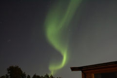 ελαφρύς βόρειος Στοκ Φωτογραφίες