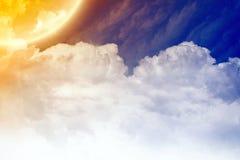 ελαφρύς ουρανός Ελεύθερη απεικόνιση δικαιώματος