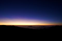 ελαφρύς ουρανός Στοκ Εικόνες