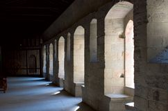 ελαφρύς τοίχος κάστρων στοκ εικόνες