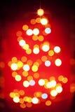 ελαφρύ δέντρο προτύπων Χρι&sigma Στοκ Εικόνα