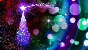 ελαφρύ δέντρο Χριστουγένν Στοκ φωτογραφία με δικαίωμα ελεύθερης χρήσης